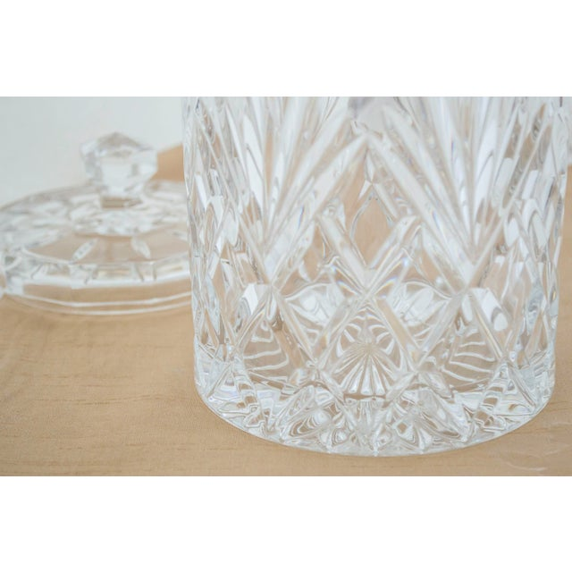 Lead Crystal Ice Bucket With Lid - Image 6 of 6