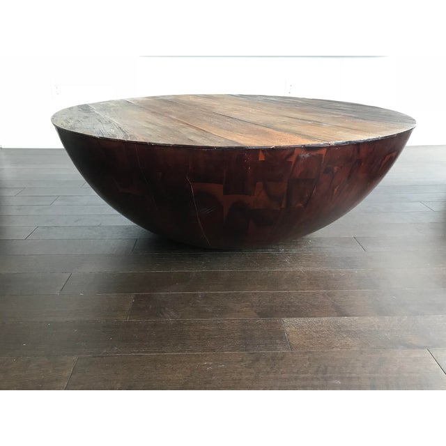 """Anthropologie Anthropologie """"Semisfera"""" Coffee Table For Sale - Image 4 of 4"""
