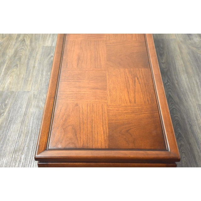 1960s Mid Century Walnut Coffee Table For Sale - Image 5 of 10