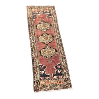 "Vintage Turkish Anatolian Runner - 3'3"" X 9'9"""