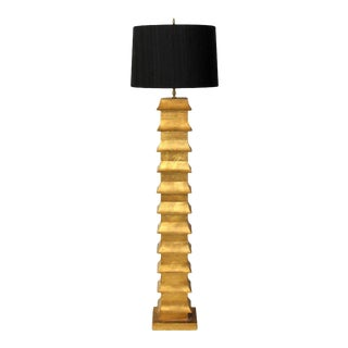 Pagoda Form Floor Lamp