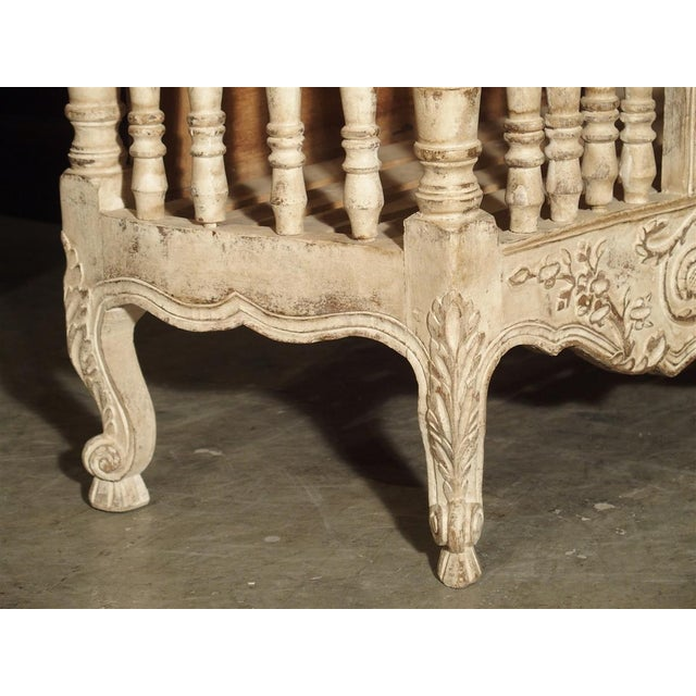 Traditional Painted 19th Century Panetiere From Provence, France For Sale - Image 3 of 13