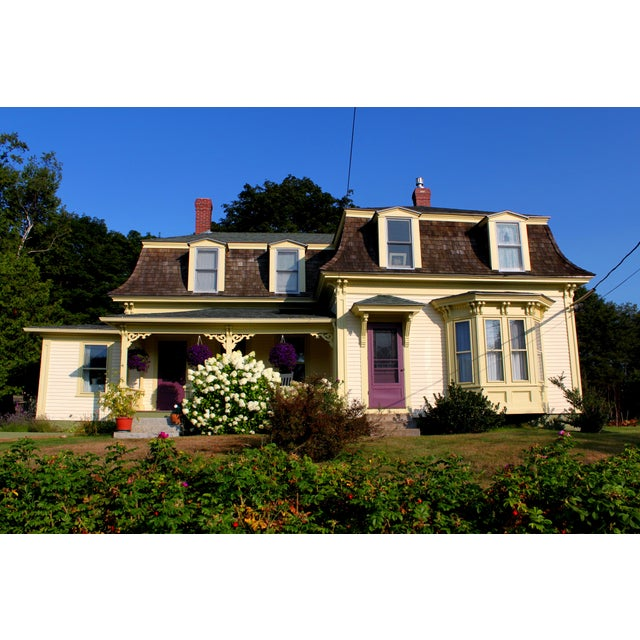 Realism Photograph of Maine House by Josh Moulton For Sale - Image 3 of 3