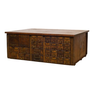 Early 20th C. w.c. Heller and Co Cabinet C.1906-1920 For Sale
