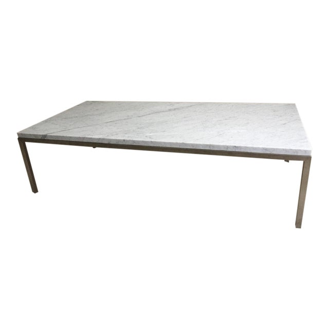 Room & Board Portica Custom Marble Coffee Table - Image 1 of 10