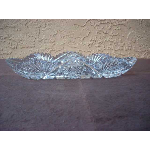 Circa 1800 Cut Crystal Bowl For Sale - Image 4 of 4