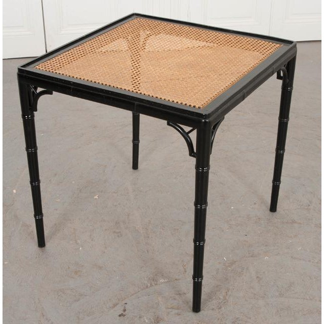 English Vintage Chinese Chippendale Four-Piece Conservatory Suite For Sale - Image 11 of 13