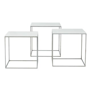 Poul Kjaerholm PK-71 Nesting Tables - Set of 3 For Sale