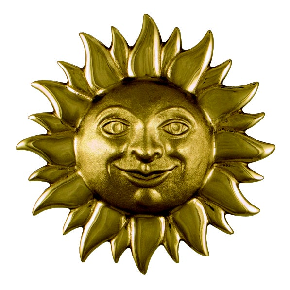Smiling Sunface Door Knocker For Sale - Image 4 of 4