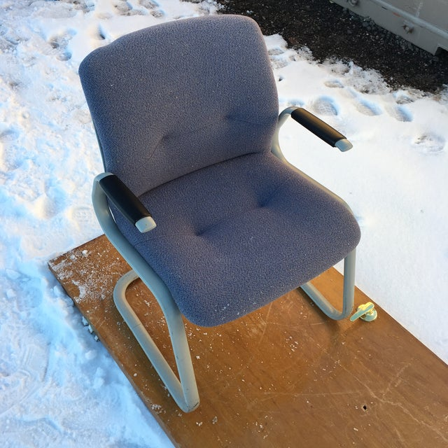 1980s Cantilever Armchair by Steelcase For Sale In Denver - Image 6 of 12