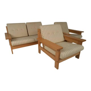 Mid-Century Modern Danish Living Room Suite For Sale