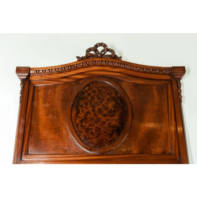 Late 19th Century 19th C. French Burl Walnut Single Beds For Sale - Image 5 of 8