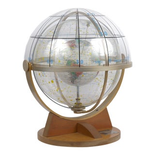 Circa 1953 Farquhar Celestial Navigation Armillary Sphere Globe for Dept. Of Navy For Sale