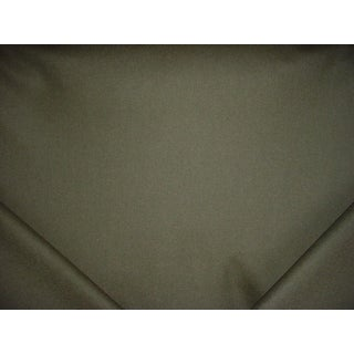 Traditional Schumacher Chester Wool Heather Green Drapery Upholstery Fabric - 2-3/4y For Sale