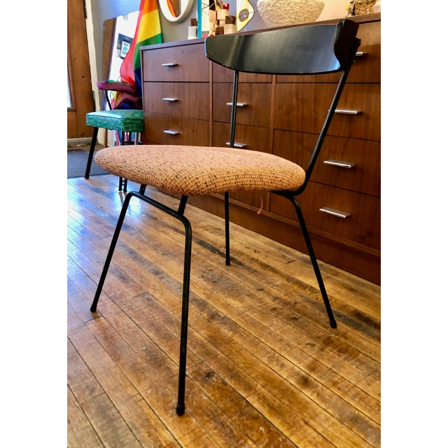 Metal Clifford Pascoe for Modernmaster's , Inc. Desk Chair For Sale - Image 7 of 7