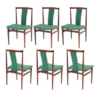 Sculptural Rosewood Dining Chairs - Set of 6