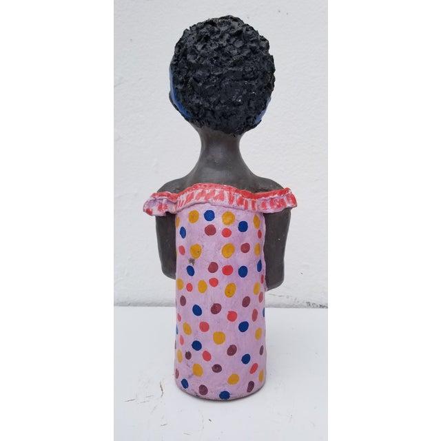 1980s 1980s Brazilian Female Sculpture For Sale - Image 5 of 13