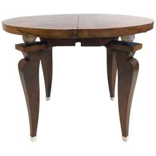 1930s French Art Deco Adjustable Table For Sale