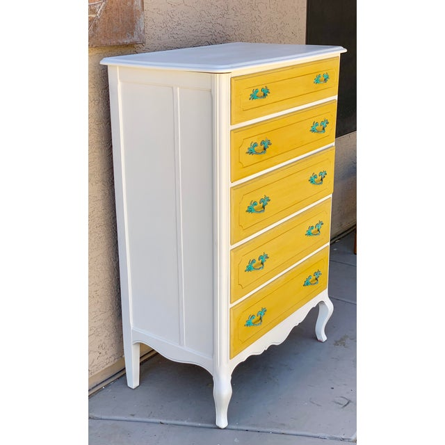 1930's French Country Chest of Drawers For Sale - Image 4 of 7
