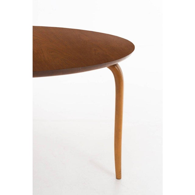 1960s Bruno Mathsson Side Table For Sale - Image 5 of 7