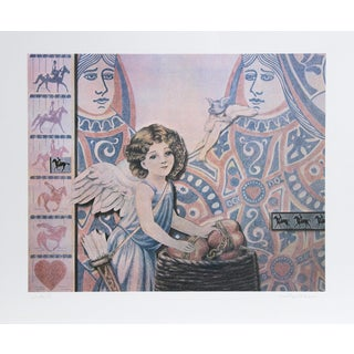 Robert Anderson, the Heartkeepers, Lithograph For Sale