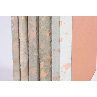 Metallic Hide White & Rose Gold Books - Set of 5 Preview