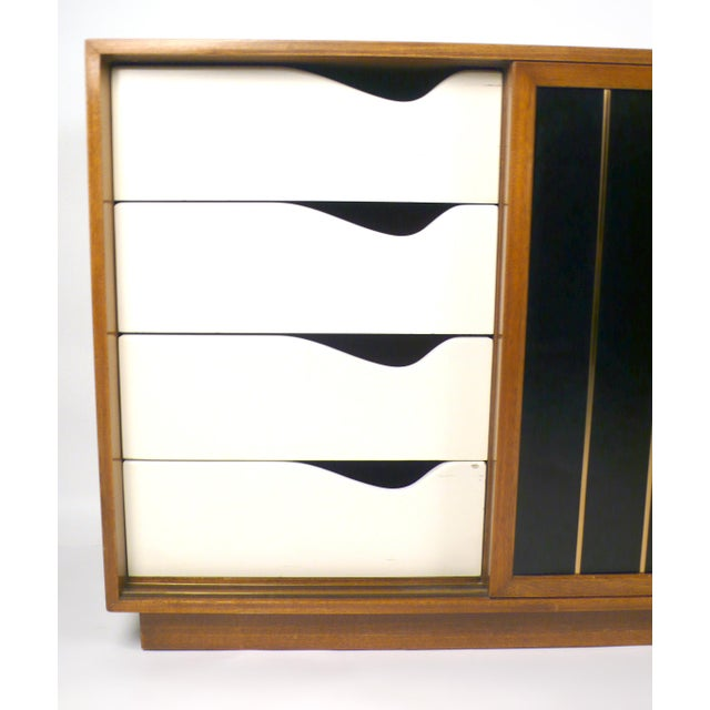 Leather Faced Probber Cabinet For Sale In Dallas - Image 6 of 9