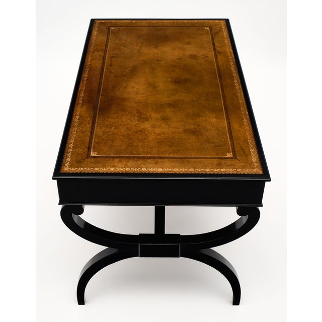 French Antique Curule Writing Desk For Sale In Austin - Image 6 of 10