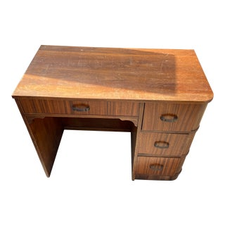 1960s Mission Style Writing Desk For Sale