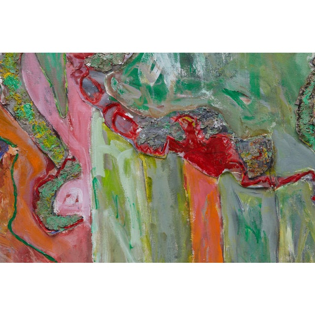 Blue Wyona Diskin, Elephant Painting For Sale - Image 8 of 12