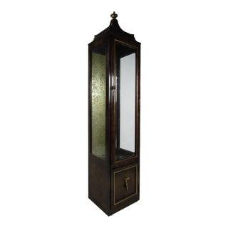 Vintage Standing Display Cabinet For Sale