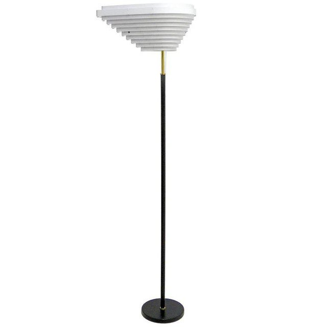 Alvar Aalto Model A805 'Angel Wing' Floor Lamp For Sale - Image 13 of 13