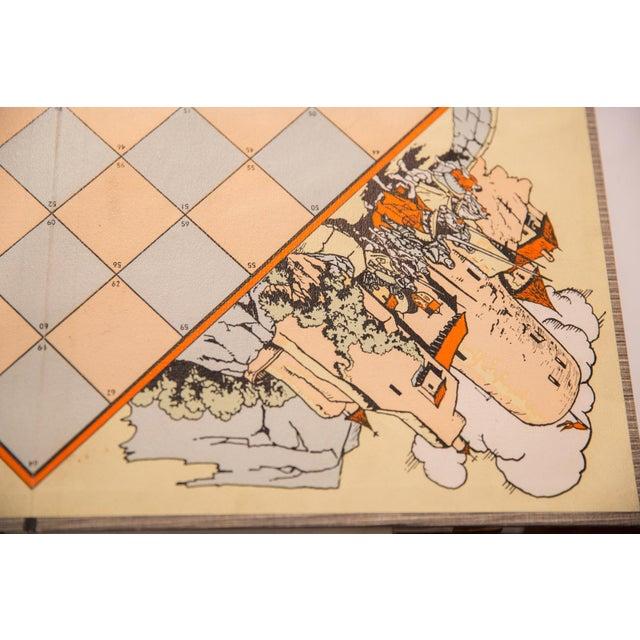1940s Vintage Parker Brothers Citadel Game Board For Sale - Image 5 of 7