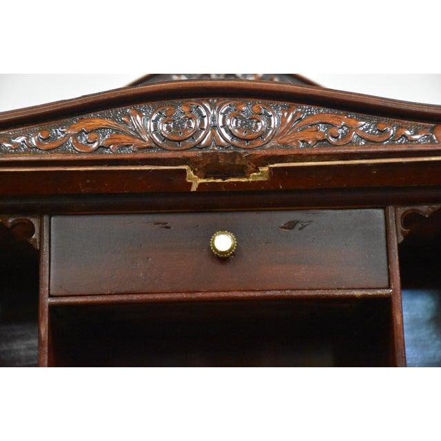 r.j. Horner Mahogany Secretary Desk For Sale - Image 10 of 12