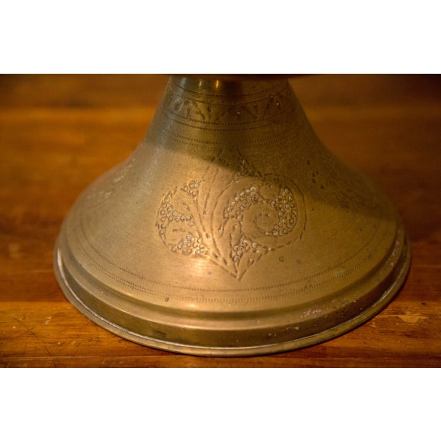 Vintage Moroccan Brass Tea Pot For Sale - Image 7 of 7