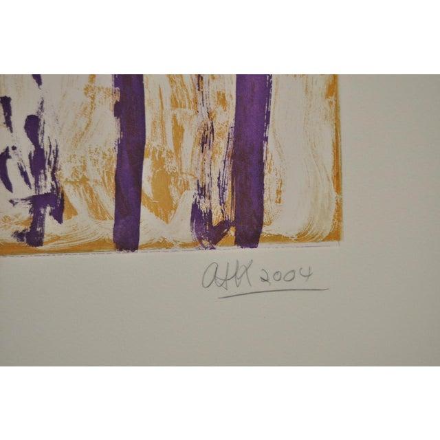 "Early 21st Century Arthur Krakower ""Atherton"" Original Monotype C.2004 For Sale - Image 5 of 6"