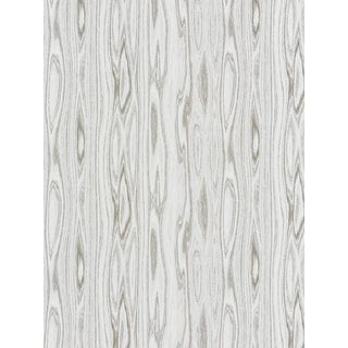 Scalamandre Faux Bois Weave, Ash Fabric For Sale
