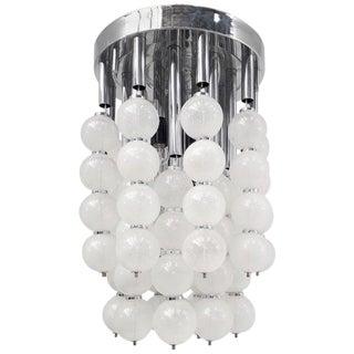Murano Balls Flush Mount or Pendant For Sale