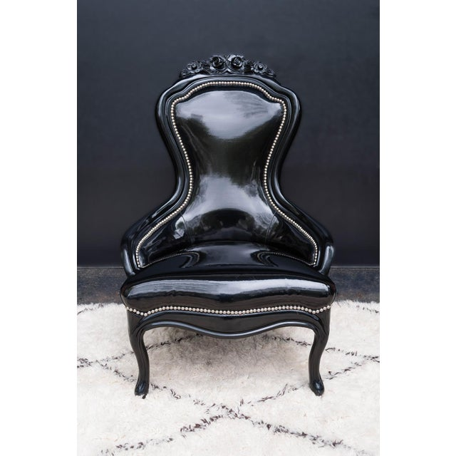 Luxe Regency King and Queen Chairs - Image 6 of 11