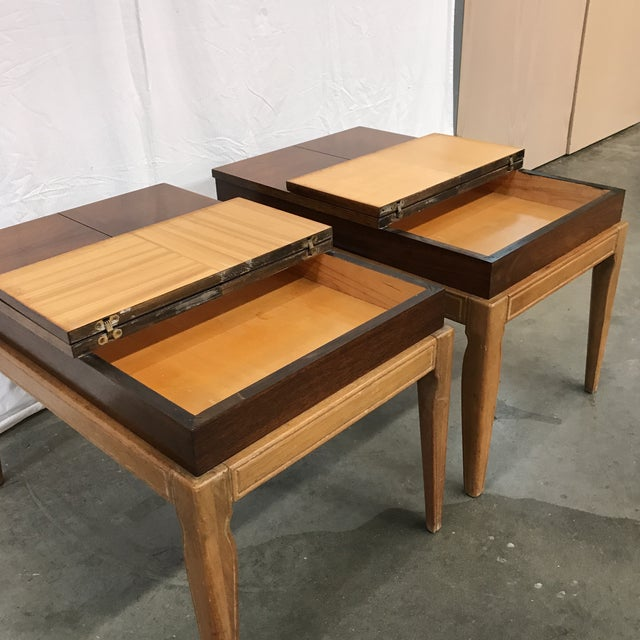 Mid-Century Modern Drexel Casa Del Sol Mid-Century End Tables - A Pair For Sale - Image 3 of 8