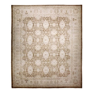 """Hand Knotted Afghan Luxury Rug - 8'1"""" X 9'11"""" For Sale"""