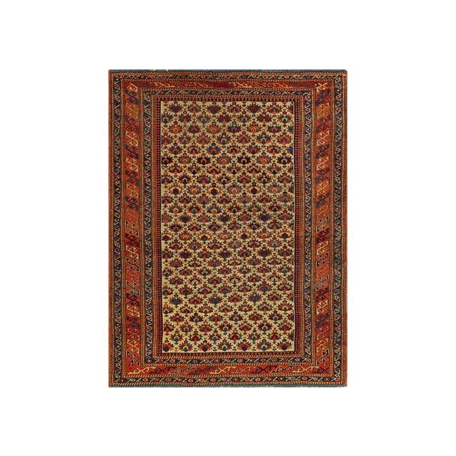Antique Caucasian Rug For Sale