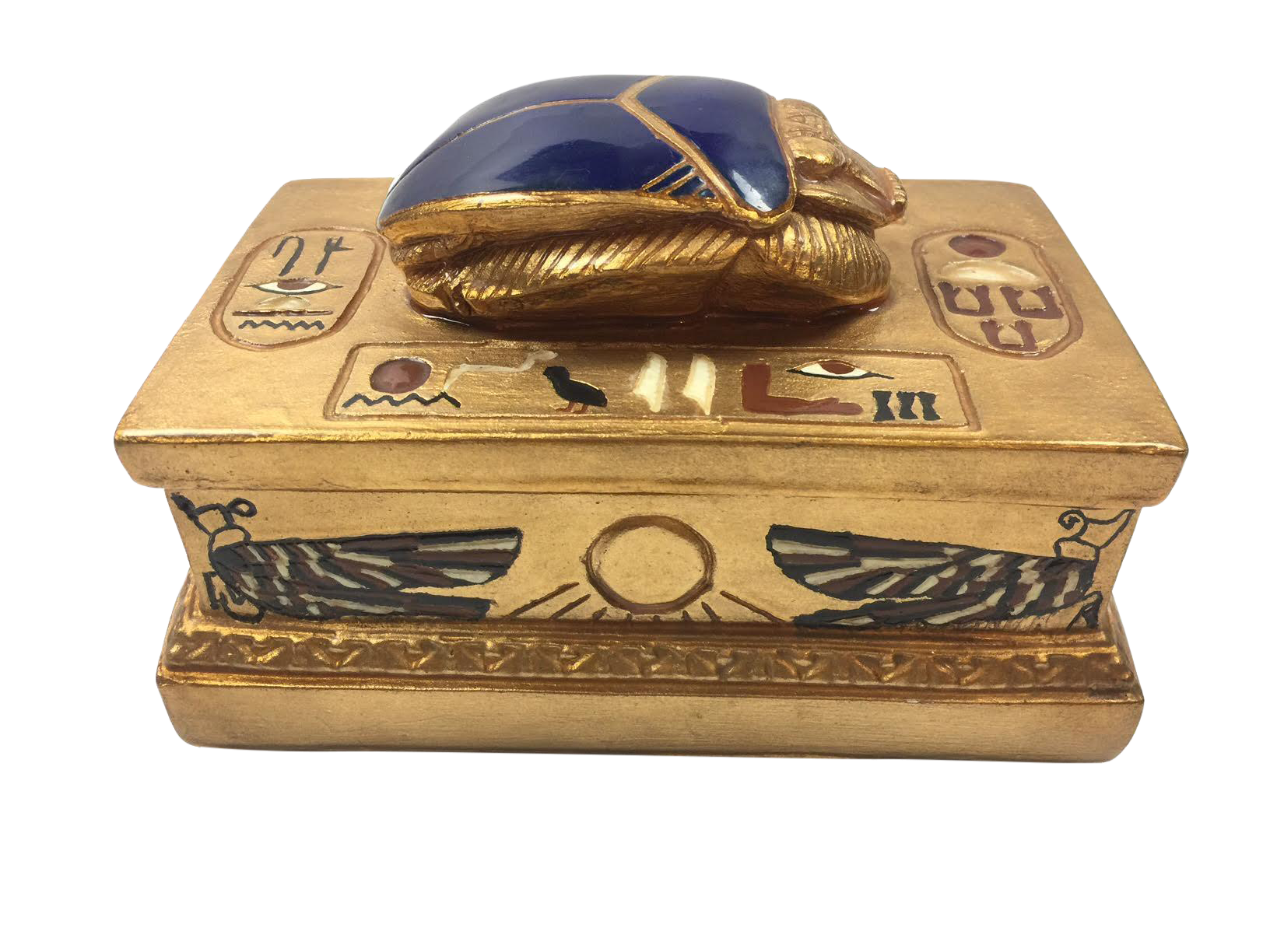 Vintage Egyptian Jewelry Box Chairish