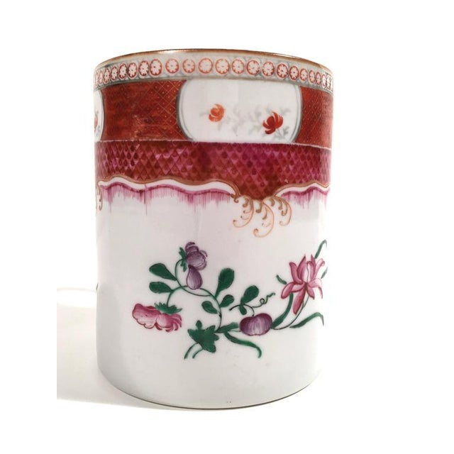 Chinese Export Famille Rose Porcelain Mug - Image 2 of 9
