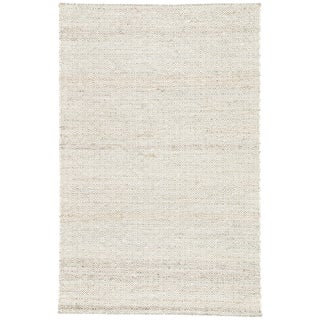 Jaipur Living Wales Natural Geometric Tan/ White Area Rug - 5′ × 8′ For Sale