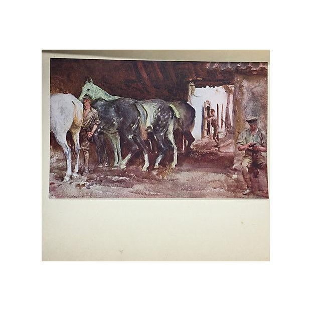 """"""" Famous Water Colour Painters"""" 1930 Book by J. S. Sargent - Image 8 of 10"""