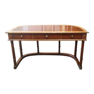 "20th Century Asian Tomlinson ""Sophisticate East"" Curved Desk For Sale"