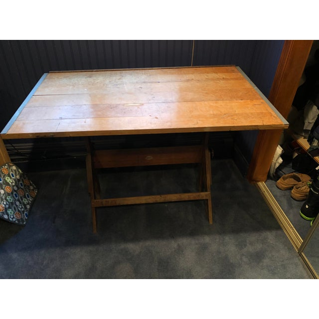 Vintage Anco Bilt Adjustable Drafting Table For Sale In New York - Image 6 of 6