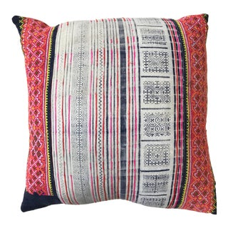 Amber Interiors Vintage Batik Pillow with Insert