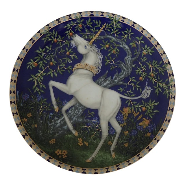 Hutschenreuther Fine German China Wall Plate For Sale